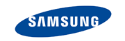 Logo of Samsung brand